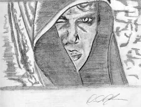 Anakin Sketch by David Porfirio